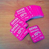 Stickers, étiquettes adhésives